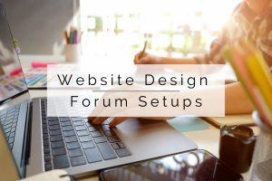 Website Design and Forums
